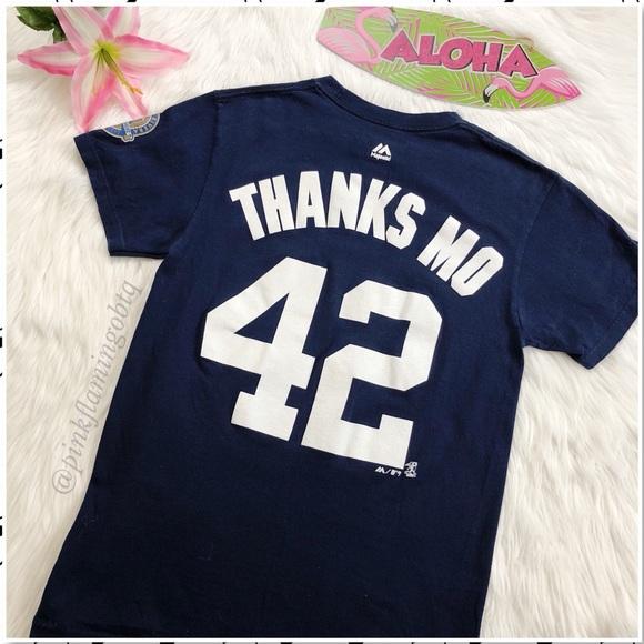 65776596 ⬇️$25 NY Yankees Mariano Rivera Tee Thanks Mo